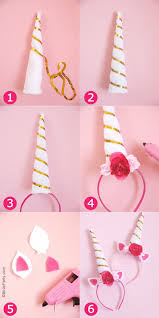 Unicorn Home Decor Diy Unicorn Party Headbands Party Ideas Party Printables