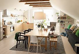 dining room simple scandinavian dining room features molded wood