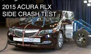 p1 crash 2015 acura rlx crash test side crashnet1