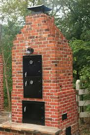 Build Brick Oven Backyard by Old Style Brick Smoke House Smoke Houses Pinterest Bricks
