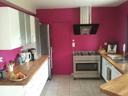 cuisine blanche mur framboise free cuisine blanche mur taupe