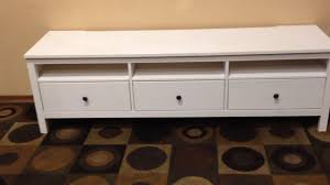 hemnes tv bench ikea hemnes tv stand youtube
