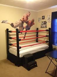wwe bedroom how to make a diy wwe wrestling bed under 100 recipe pipe