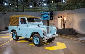 land rover series ii final land rover defender rolls off production line in solihull
