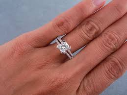 radiant cut engagement ring ctw radiant cut diamond engagement ring h si1
