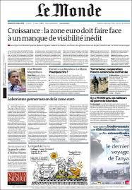 si鑒e du journal le monde newspaper le monde front pages from newspapers in