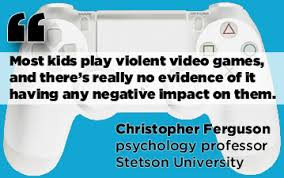 VIOLENT VIDEO GAMES Quotes Like Success     Video Games Do Not Cause Violent Behavior