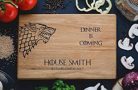 cutting boards engraved personalized cutting board dinner is coming of