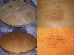 how to refinish veneer table the chair dr veneer repair