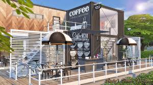 sims4 container coffee shop ruby u0027s home design container shop