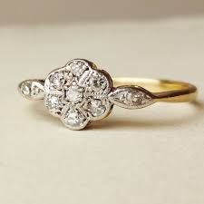 antique gold engagement rings antique gold and diamond rings wedding promise diamond
