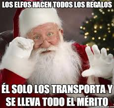 Memes De Santa Claus - maldito gordo bastardo