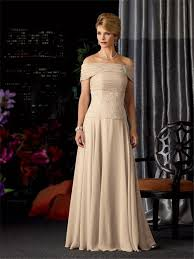 line strapless long champagne chiffon lace mother of the bride