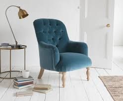 flump bedroom chair high button back armchair loaf