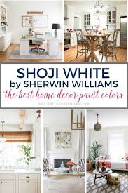 which sherwin williams paint is best for kitchen cabinets the best home decor paint colors shoji white the