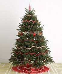 festive tree decorating ideas real simple