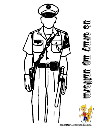 military coloring page of mp solider http www yescoloring com