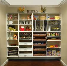 kitchen pantry shelving decorating clear