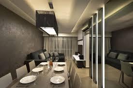 Open Floor Plan Interior Design Narrow Open Floor Plan Dining Room Nad Living Room In Minimlist