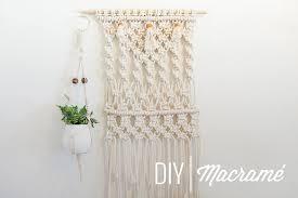 diy macramé plant hanger u2013 pigment u2013 medium