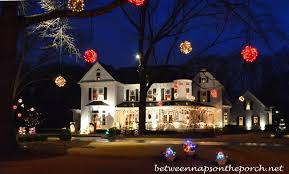 victorian home lit up u0026 decorated for christmas
