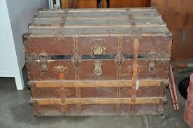furniture antique steamer trunk for inspiring unique storage