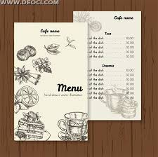 cafe menu templates free download template billybullock us