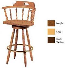 Wooden Swivel Bar Stool Adorable Wood Swivel Bar Stool With Furniture Imports Captains