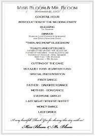 wedding party program template aps here s a sle program events lab cebu