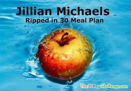 jillian michaels 30 day shred diet meal plan for shredding