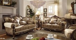 Italian Living Room Sets Homey Design 7 Pc Italian Style Traditional Living Room Set