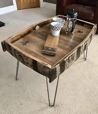 whiskey barrel side table barrel table ebay