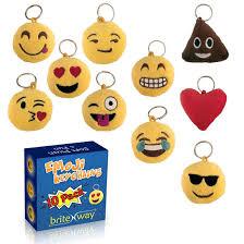 gardening emoji emoji keychain round faces set of 10 cute sweet soft u0026 plush