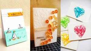 diy mother u0027s day greeting card 5 diy ideas youtube