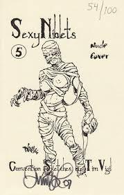 convention sketches by tim vigil soft cover 5b nimm98