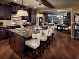 kitchens with islands ideas u shaped brick kitchen island raw