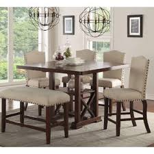 long counter height table counter height kitchen dining tables you ll love wayfair