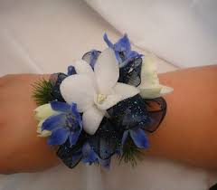 blue orchid corsage prom flowers corsages and boutonnieres delivery greenville sc