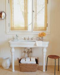Powder Room Hand Towels Organized Bathrooms Martha Stewart