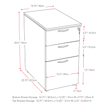 desk height for 6 2 corliving workspace desk height filing cabinet free shipping today