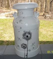 this was an easy project using an old milk can all you need is an
