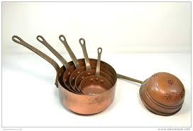 batterie de cuisine en cuivre a vendre 399665169 3 magnifique batterie de cuisine en cuivre a vendre