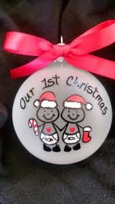 Personalized Ornaments Wedding Just Married Personalized Ornament Wedding Gift Christmas