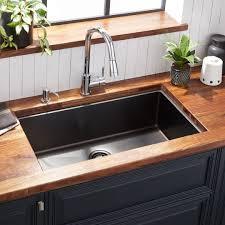 kitchen sink cabinet parts 32 atlas stainless steel undermount kitchen sink gunmetal black