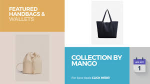 Mango Tote collection by mango featured handbags wallets