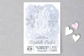 baby it s cold outside baby shower baby it s cold outside baby shower invitations by minted