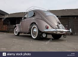 volkswagen beetle classic 1954 vw volkswagen beetle classic air cooled rear engine car stock