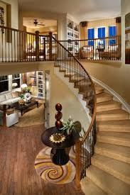 classic chic home traditional white and dark wood staircases is