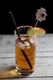 bourbon halloween cocktail