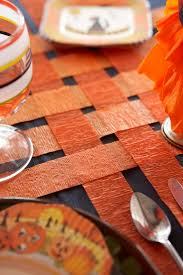halloween tablecloth karin lidbeck crepe paper halloween back to basics